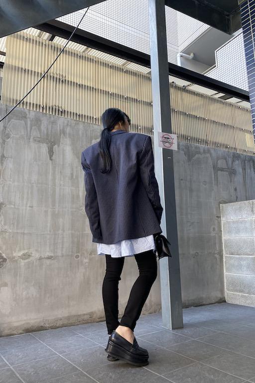 VETEMENTS 【50%OFF】ピンストライプテーラードジャケット【20SS】