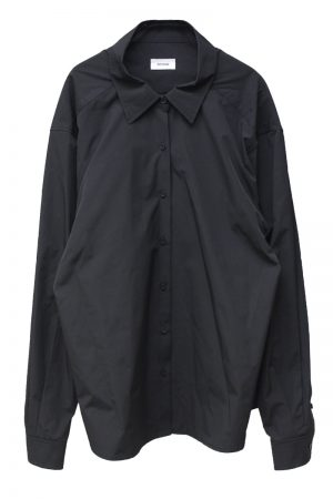 WE11DONE ZIP付オーバーシャツ【20SS】