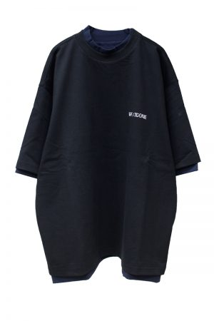 WE11DONE リバーシブルGIG Tシャツ【20SS】