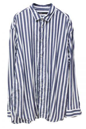 08 SIRCUS ストライプワイドシャツ【20SS】