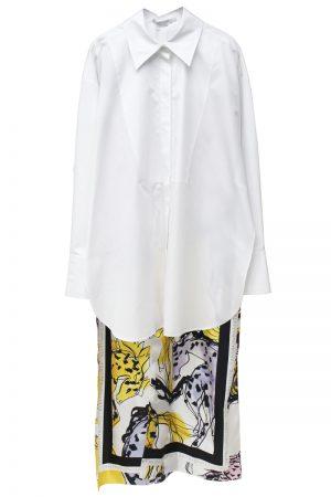 STELLA McCARTNEY ホース柄ロングシャツ【20SS】