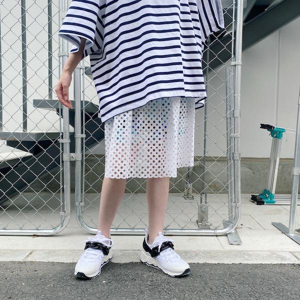 kolor 【40%OFF】レイヤードスカート [20SS]