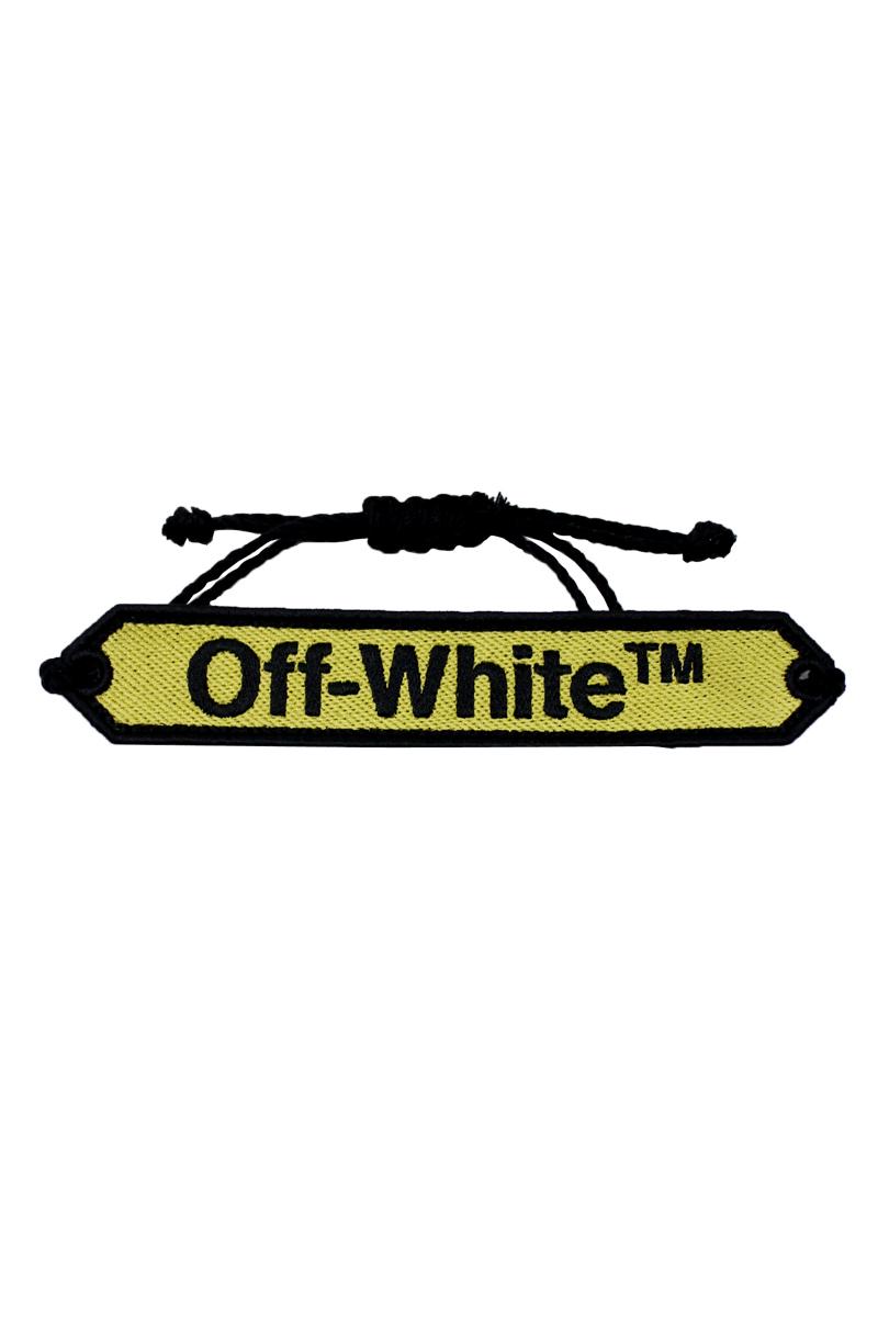 OFF-WHITE 【40%OFF】ロゴブレスレット