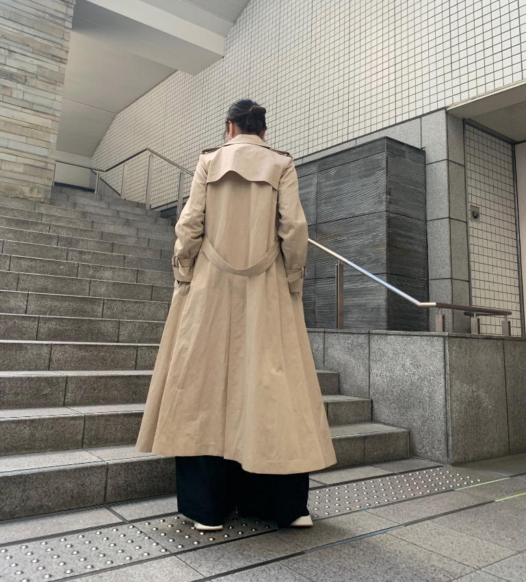 ebure 【40%OFF】トレンチコート【20SS】