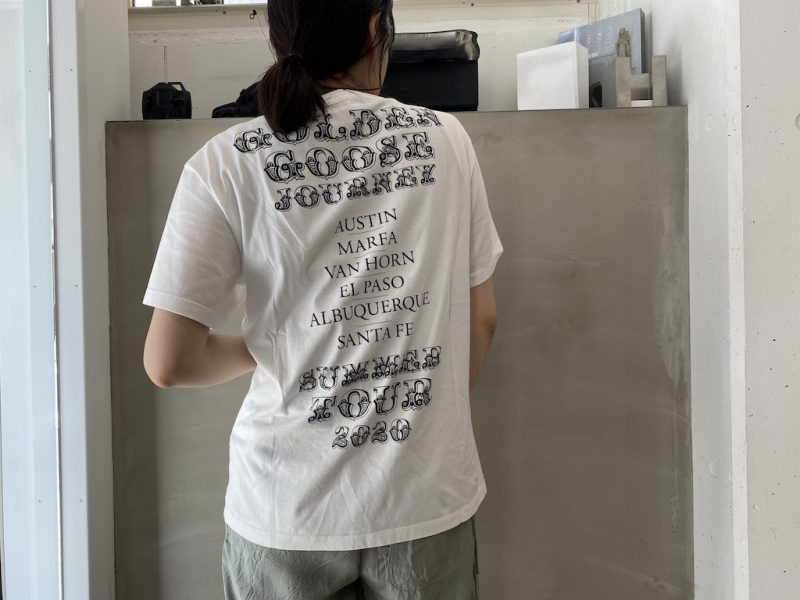 GOLDEN GOOSE DELUXE BRAND 【40%OFF】TEXAS TOUR Tシャツ【20SS】