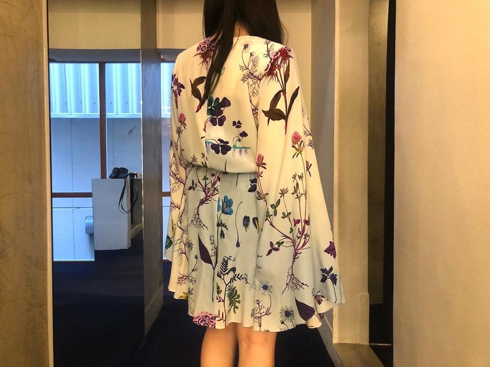 STELLA McCARTNEY 【50%OFF】花柄ミニドレス【20SS】