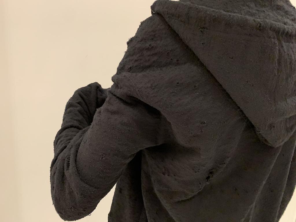 JOHN LAWRENCE SULLIVAN 【40%OFF】ダメージスウェットフーディ
