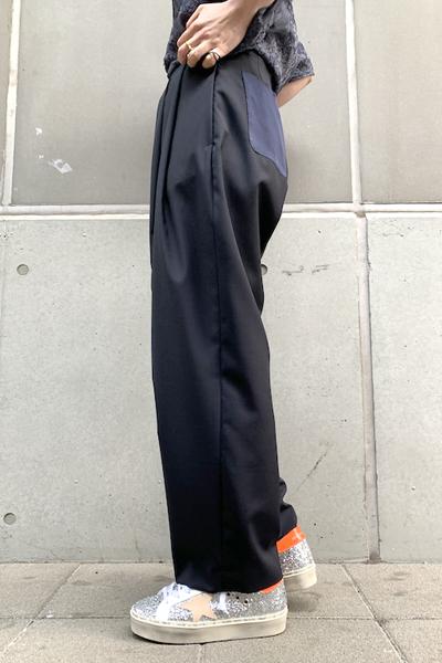 SEEALL 【40%OFF】タックパンツ