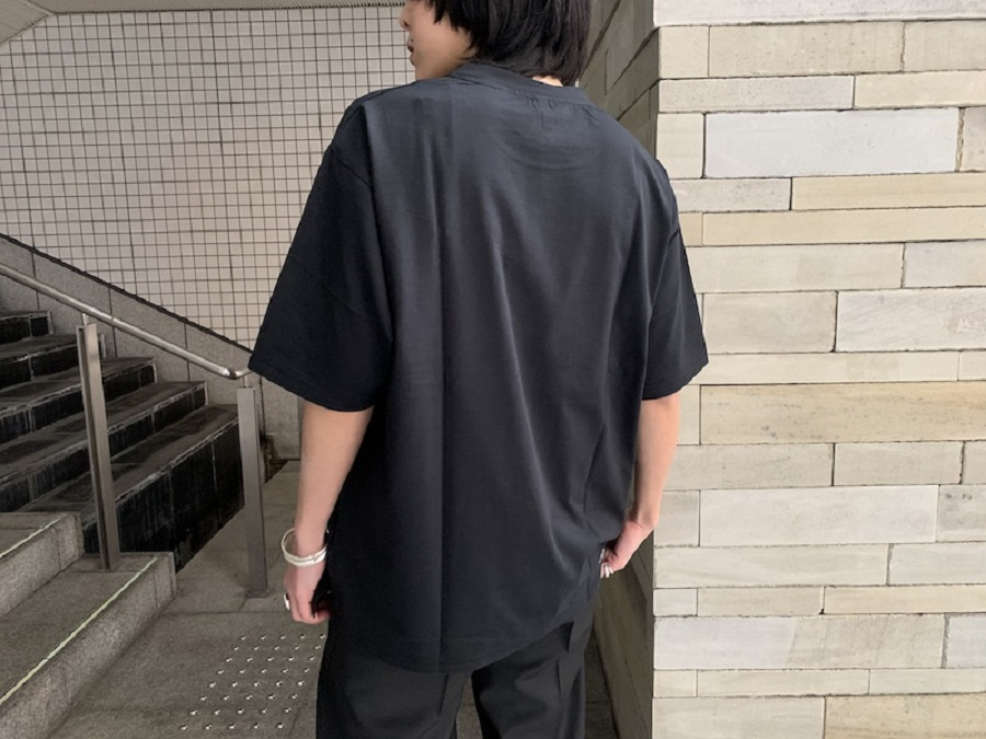 08 SIRCUS 【40%OFF】裾ロゴTシャツ【20SS】