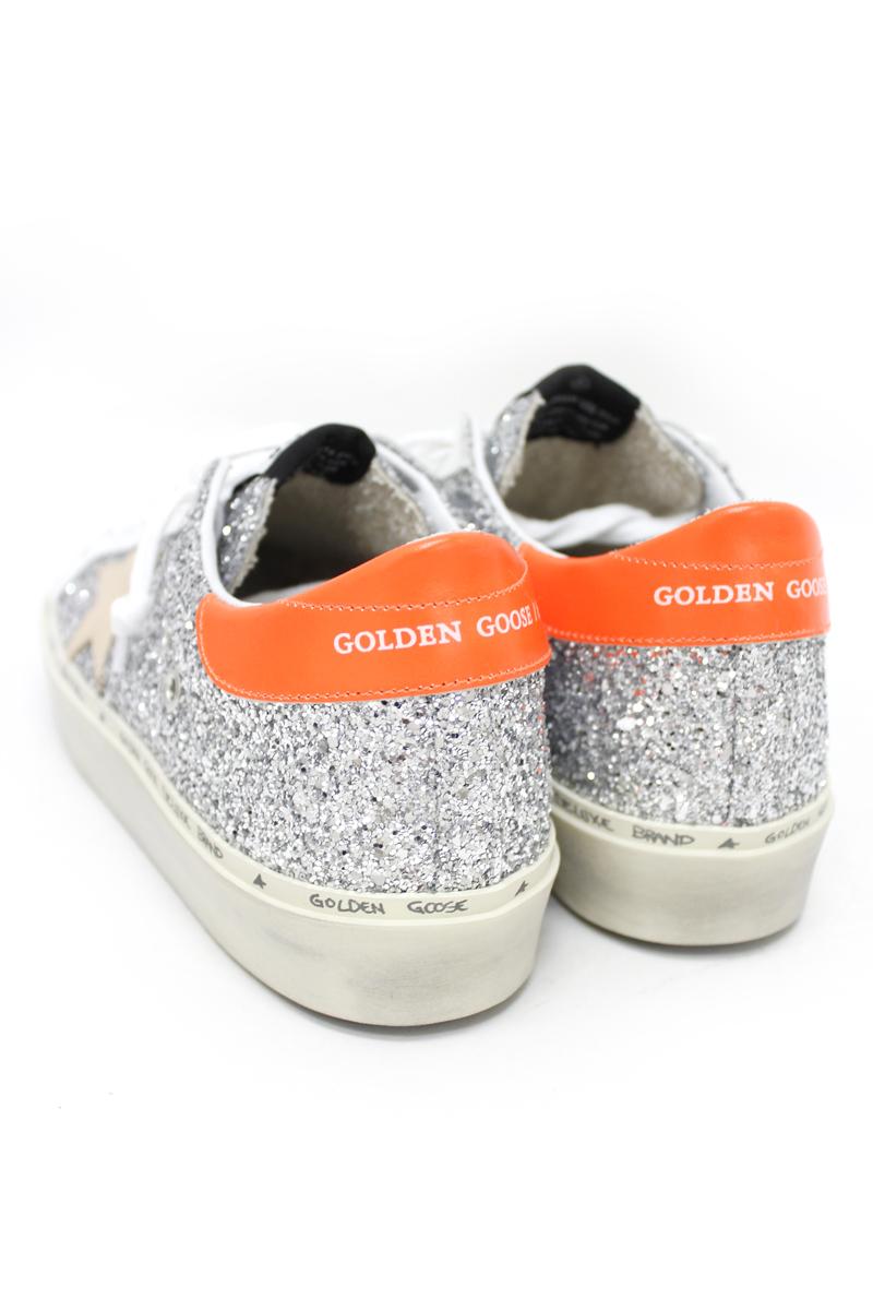 GOLDEN GOOSE DELUXE BRAND グリッター厚底スニーカー(HI STAR)