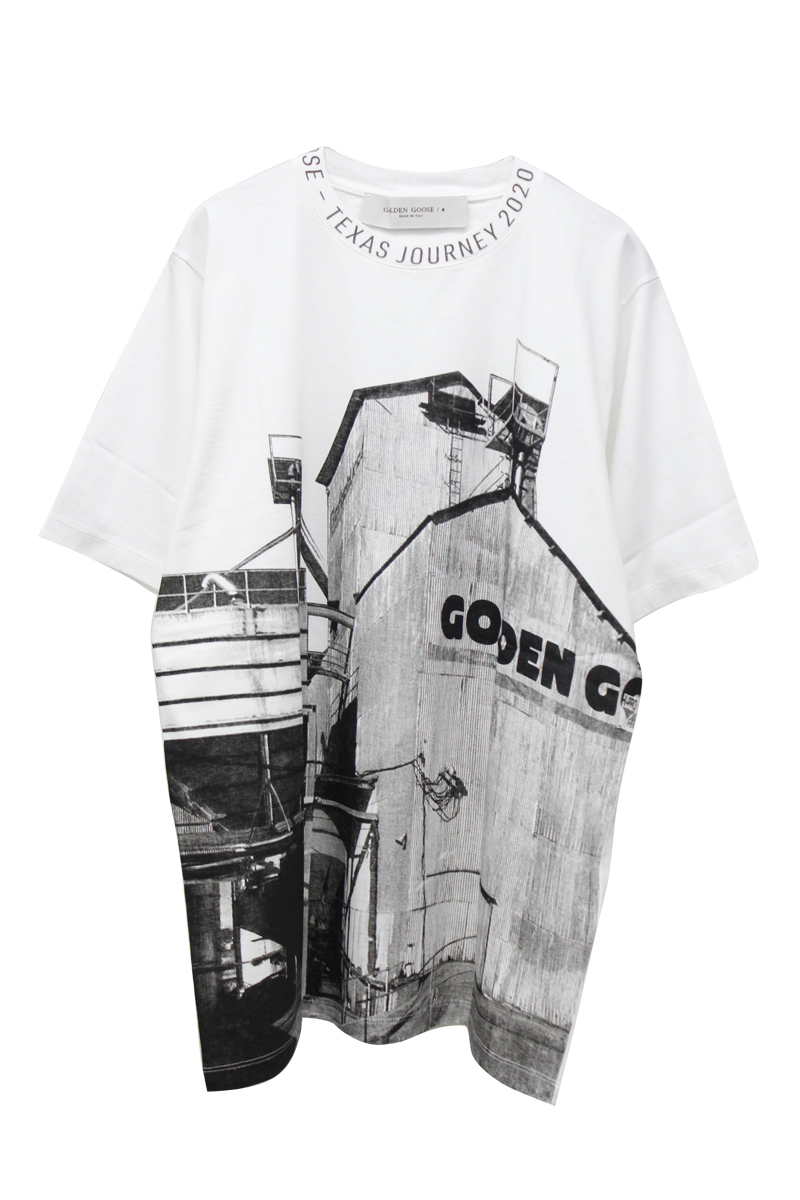 GOLDEN GOOSE DELUXE BRAND 【30%OFF】グラフィックプリントTシャツ【20SS】