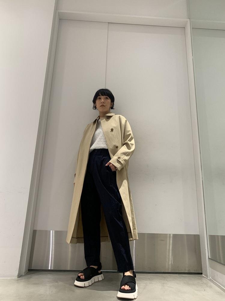 ebure 【40%OFF】ステンカラーコート【20SS】