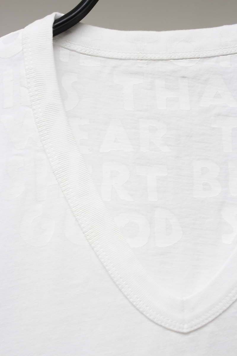 MM6 MAISON MARGIELA AIDS Tシャツ