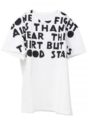 MAISON MARGIELA ビッグロゴAIDS Tシャツ[20AW]