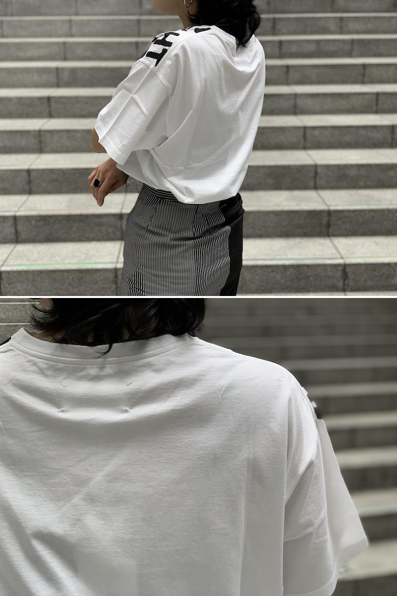MAISON MARGIELA 【30%OFF】ビッグロゴAIDS Tシャツ