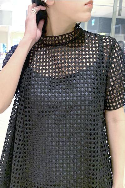 REKISAMI 【40%OFF】格子レースワンピース [20SS]