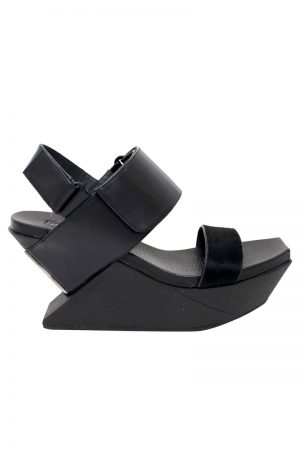 UNITED NUDE Delta Wedge サンダル (BLACK) [20SS]