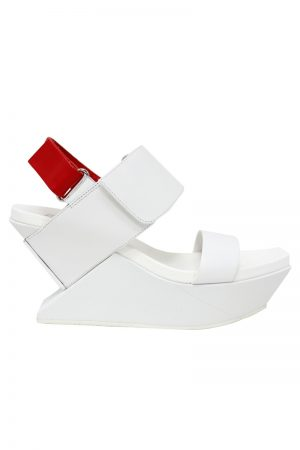 UNITED NUDE Delta Wedge サンダル(WHITE) [20SS]