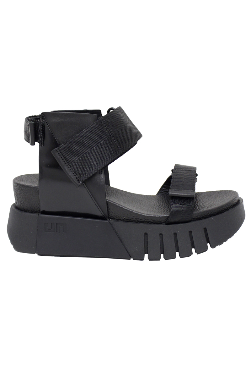 UNITED NUDE Delta Run サンダル(BLACK) [20SS]