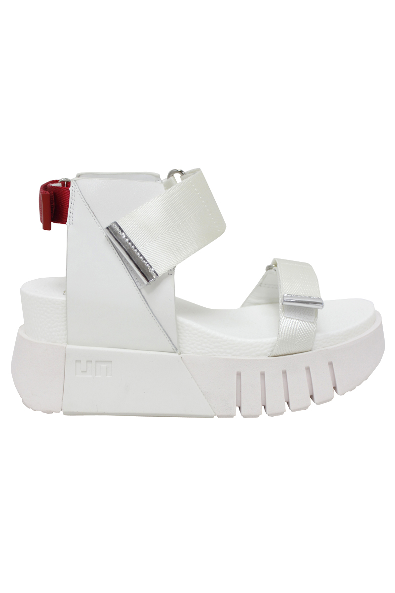 UNITED NUDE Delta Run サンダル(WHITE) [20SS]