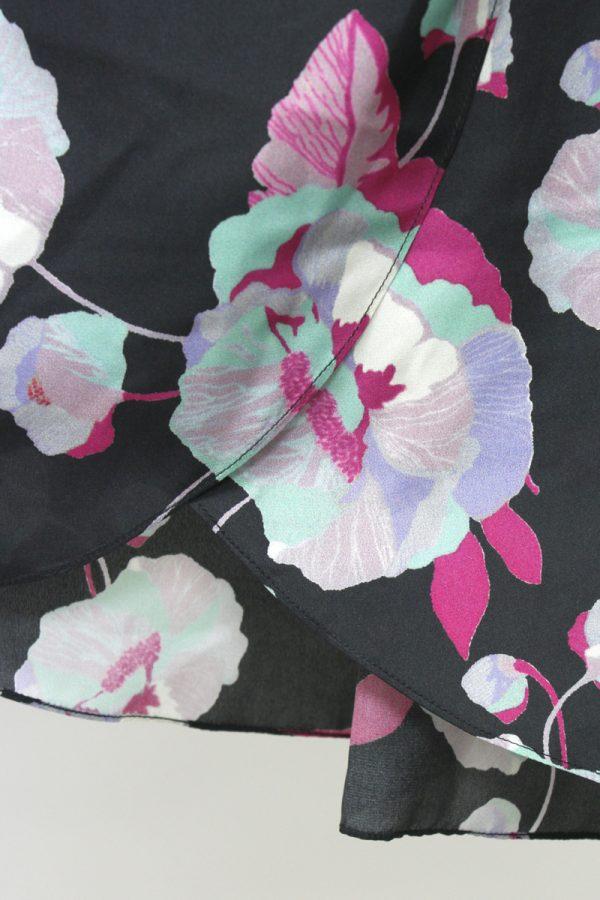 ISABEL MARANT 大花柄ラップ風スカート [20SS]