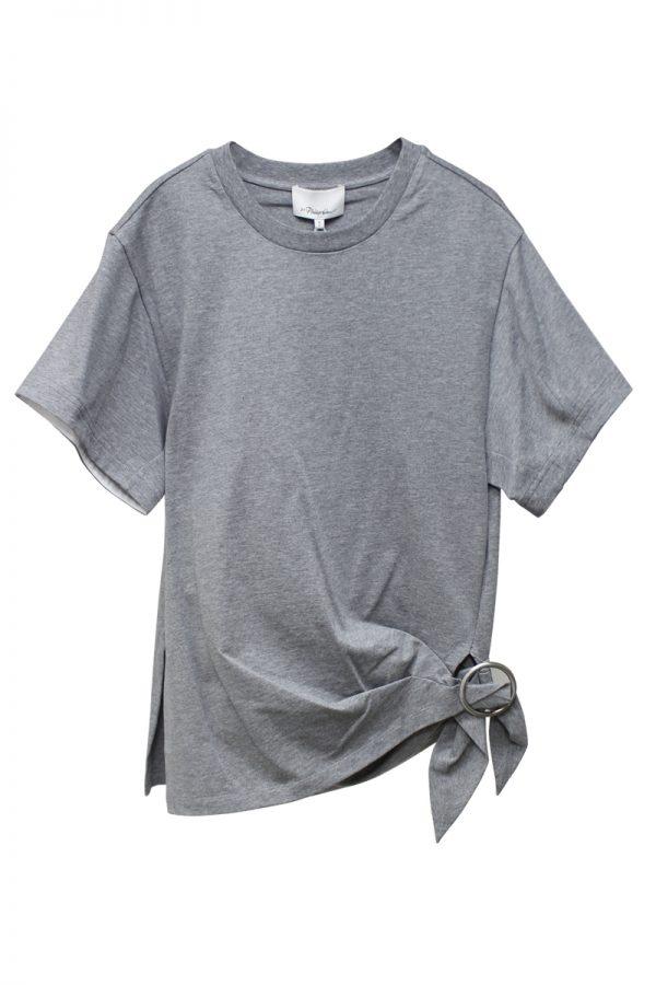 3.1 PHILLIP LIM ギャザーリングTシャツ【20SS】
