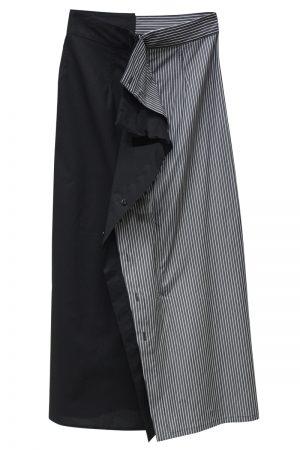 MM6 MAISON MARGIELA センター切替スカート【20SS】