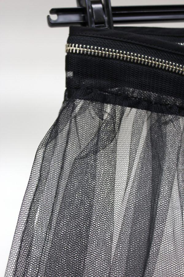 MM6 MAISON MARGIELA チュール前開きスカート【20SS】