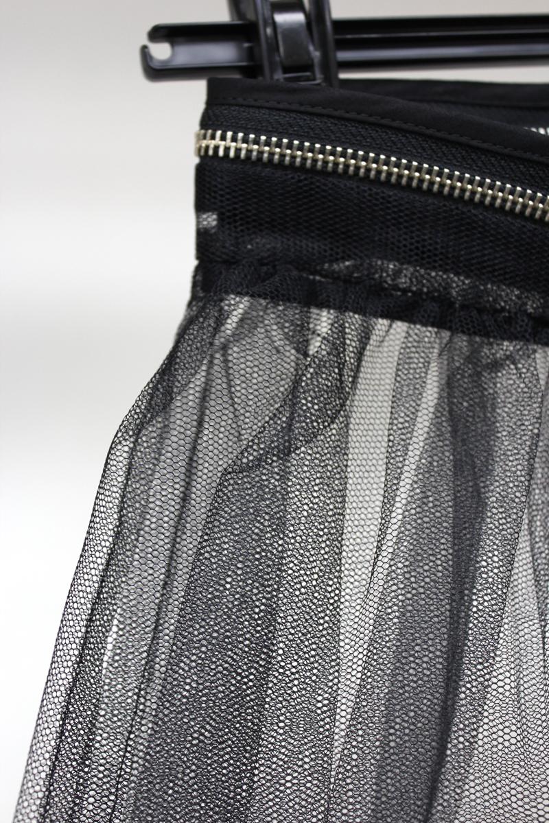 MM6 MAISON MARGIELA チュール前開きスカート