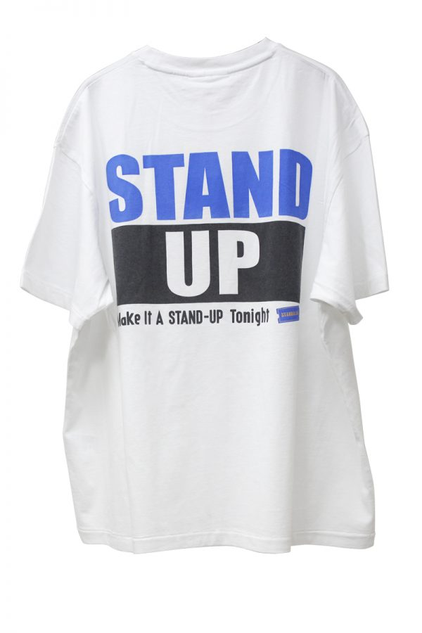 STAND ALONE バックプリントTシャツ【20SS】