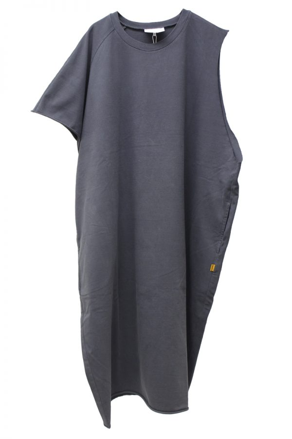 STAND ALONE アシンメトリーカットソーワンピース【20SS】