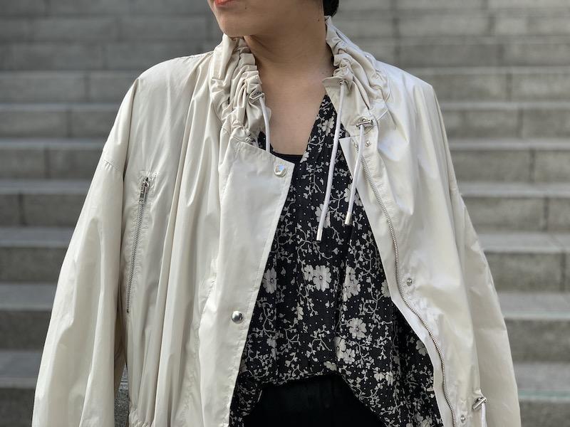 ISABEL MARANT ETOILE 【40%OFF】総柄ワイドスリーブブラウス【20SS】