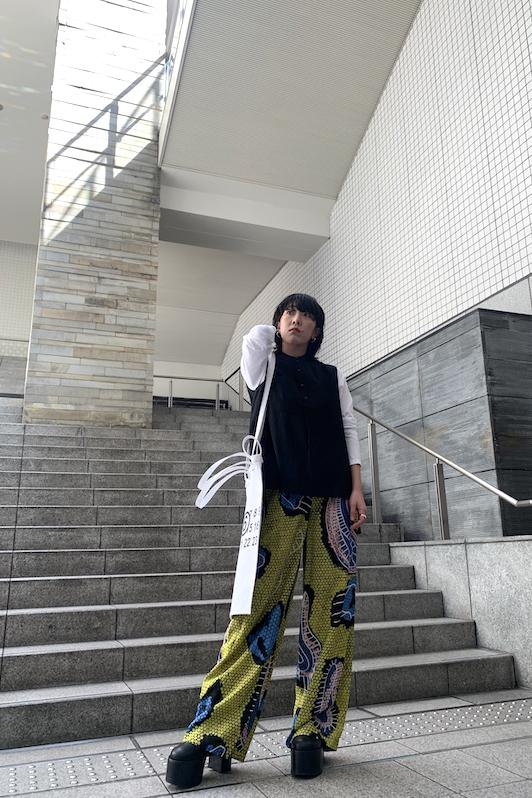 Christian Wijnants 総柄ワイドパンツ【20SS】