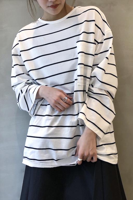 MAISON EUREKA POPEYE POCKET ロングTシャツ【20SS】