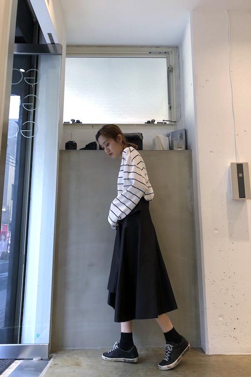 3.1 PHILLIP LIM ラッフルフロントスカート【20SS】
