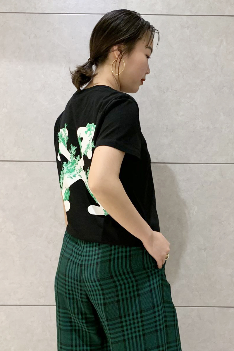 OFF-WHITE CORALSプリントTシャツ【20SS】