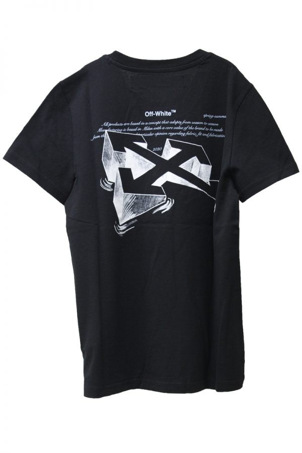 OFF-WHITE ARROW SKETCHプリントTシャツ【20SS】