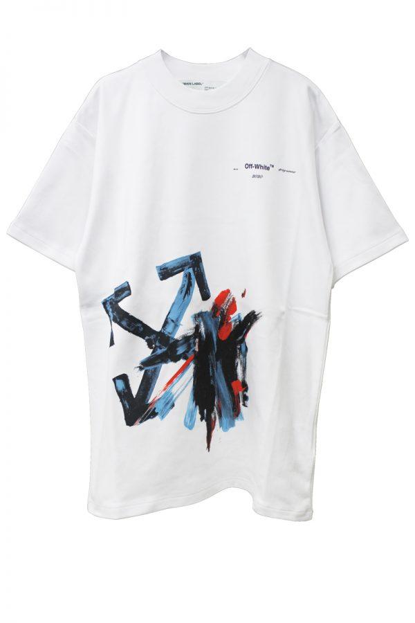OFF-WHITE BRUSH ARROW Tシャツ【20SS】