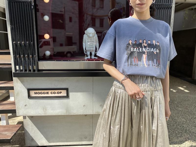 BALENCIAGA REAL BALENCIAGA Tシャツ (GRAY)  [20SS]