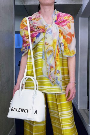 BALENCIAGA VILLEトップハンドルバッグ【20SS】