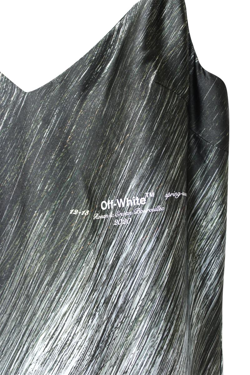 OFF-WHITE 【50%OFF】SPIRAL SLIPドレス