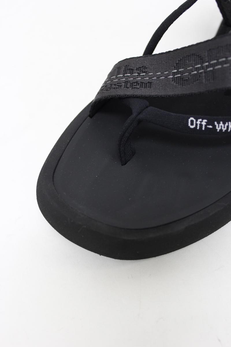 OFF-WHITE 【50%OFF】マルチストラップサンダル
