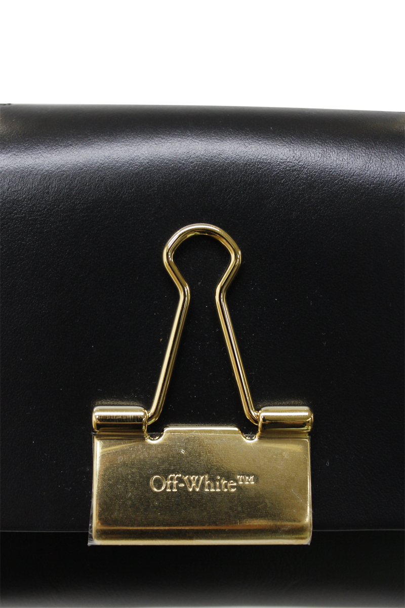 OFF-WHITE Binder clipバッグ(S)【20SS】
