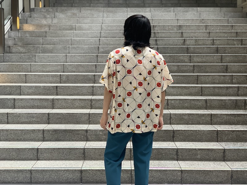 MAISON EUREKA 【40%OFF】ボーリングシルクシャツ (RED)