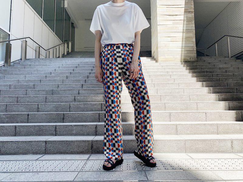 MAISON EUREKA 【40%OFF】総柄パジャマパンツ