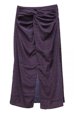 rokh ラップミックススカート【20SS】