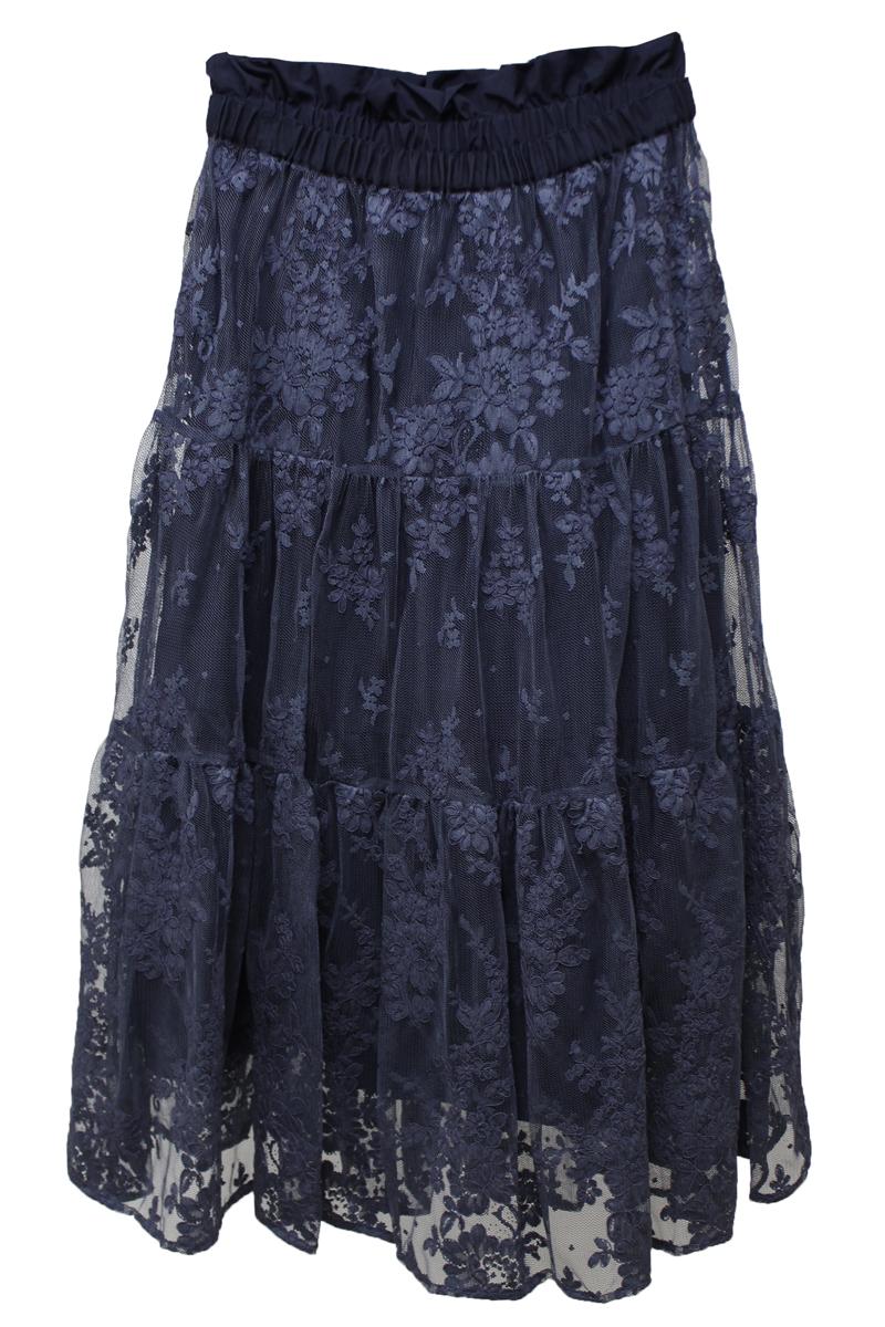 REKISAMI チュールレーススカート [20SS]