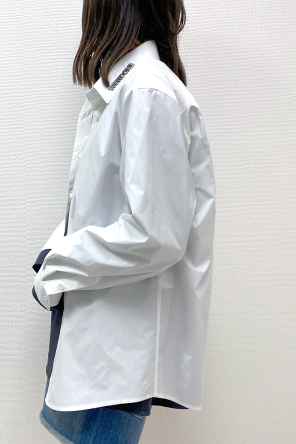 WE11DONE 【40%OFF】グロッシーシャツ