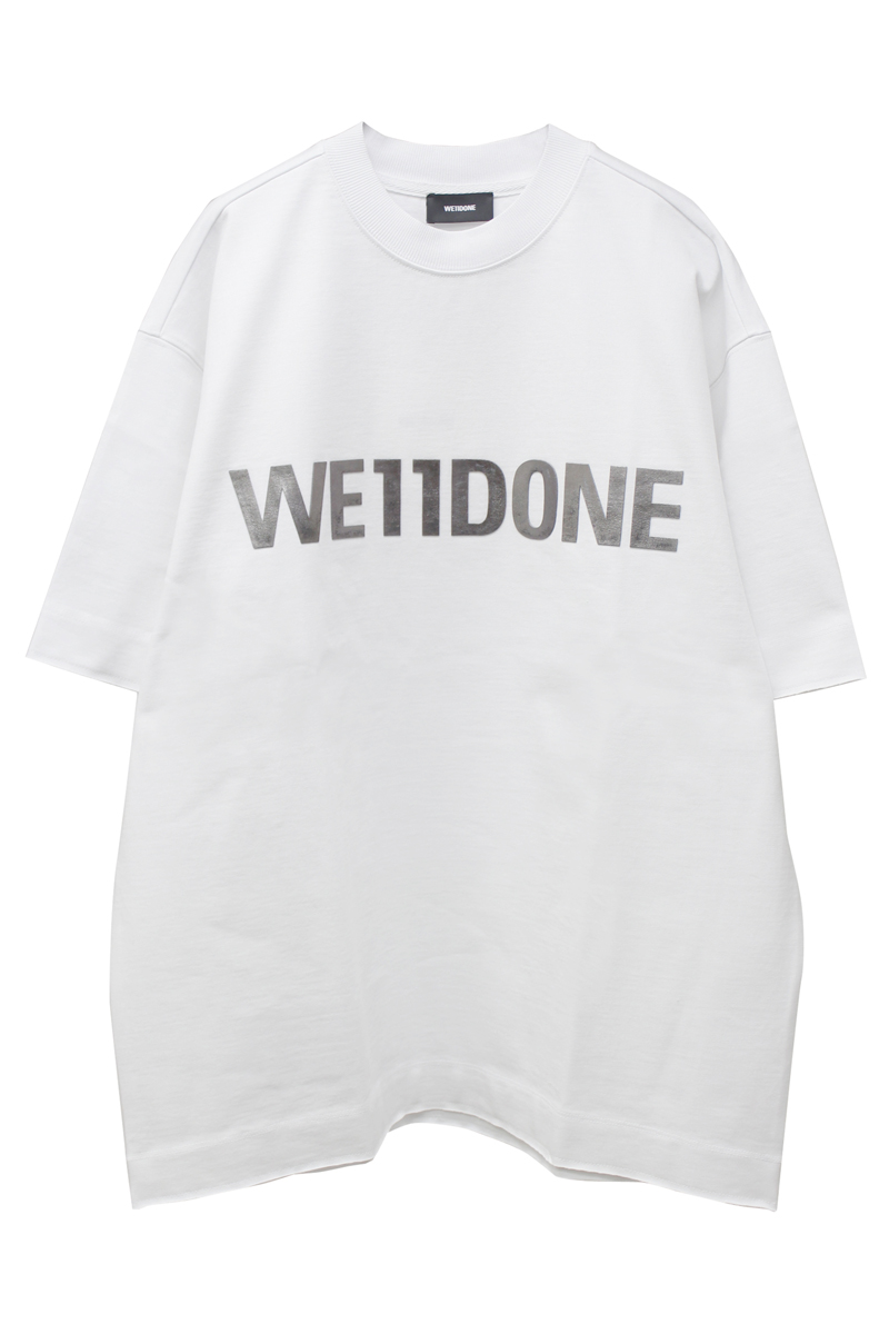 WE11DONE メタルロゴTシャツ [20SS]
