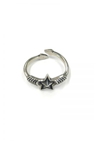 CODY SANDERSON Double Arrow Small Star RING